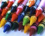 loose crayons