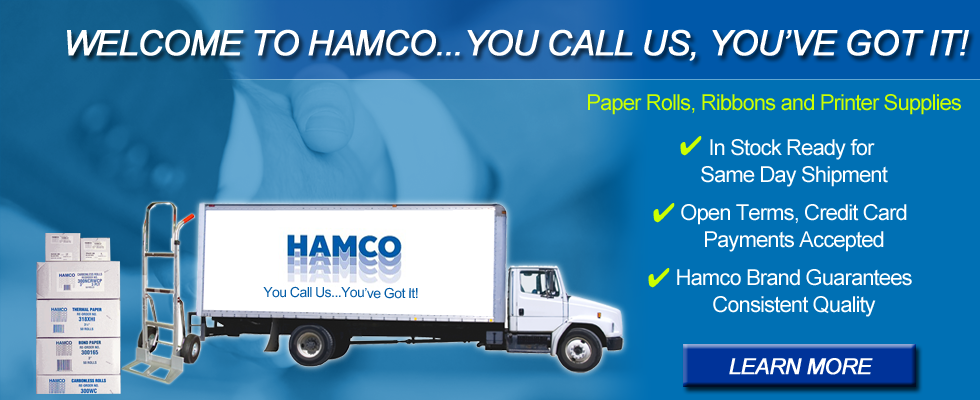 Hamco Paper Categories