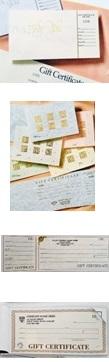 gift print custom certificate foil stamp bond