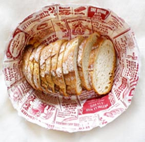 bread basket paper printed
