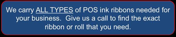 Buy POS Ink Ribbons Online - Long Island, NY
