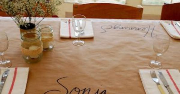 Restaurant Table Paper Covers - Long Island, NY