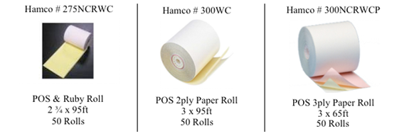 2-Ply Carbonless Paper Rolls - West Hempstead, NY