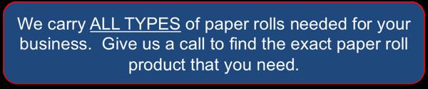 Buy POS Paper Rolls Online - West Hempstead, NY