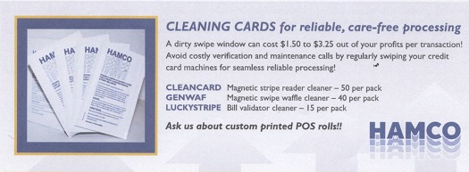 Card Reader Cleaning Cards - West Hempstead, NY