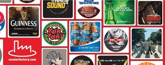 beverage coaster bar coasters