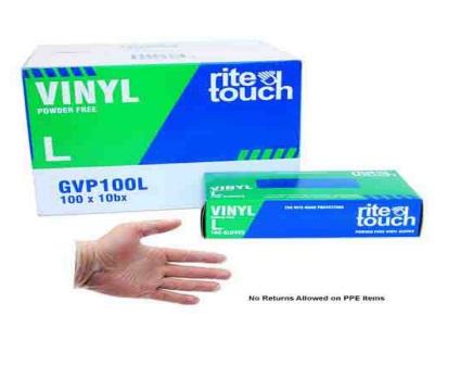 gloves hand vinyl clean